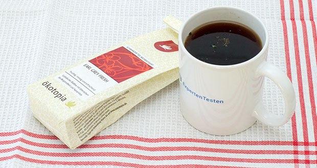 Ökotopia Schwarzer Tee Earl Grey 75g im Test - ausgeprägte Zitrusnote