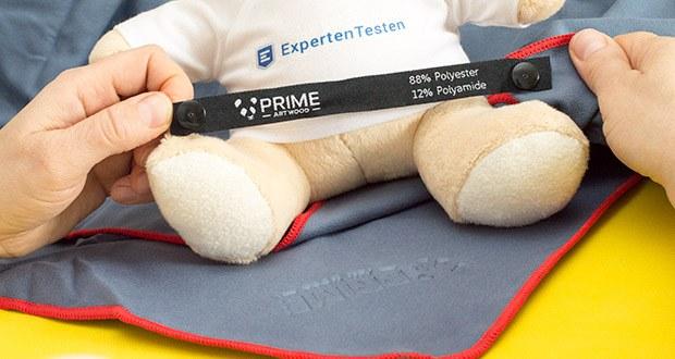 PRIME ART WOOD Microfaser Handtücher im Test - extrem Saugfähig