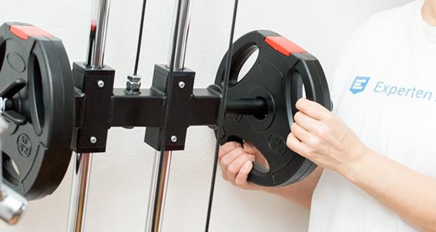 Wellactive Hantelscheiben Set im Test - kombinierbar mit vielen anderen Fitnessprodukten von Wellactive