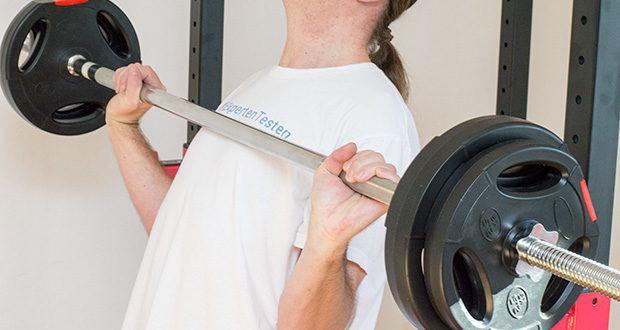 Langhantelstange Wellactive, 10 kg, 180 cm im Test