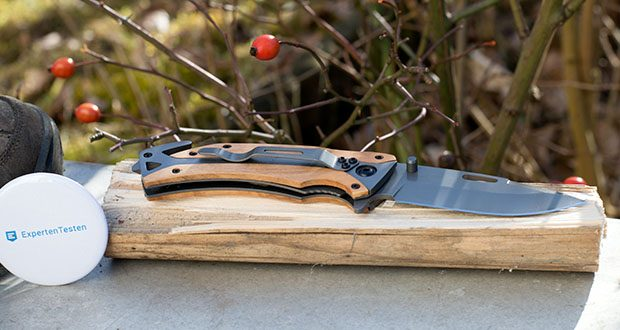 BERGKVIST Klappmesser K29 Titanium im Test - Klingenlänge Total: 8,9 cm; Custom Designed in Berlin