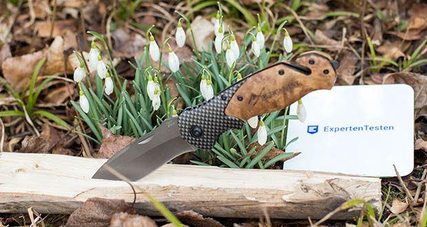 ERGKVIST 3-in-1 Outdoormesser K20 im Test - Daumen Lock für mehr Sicherheit