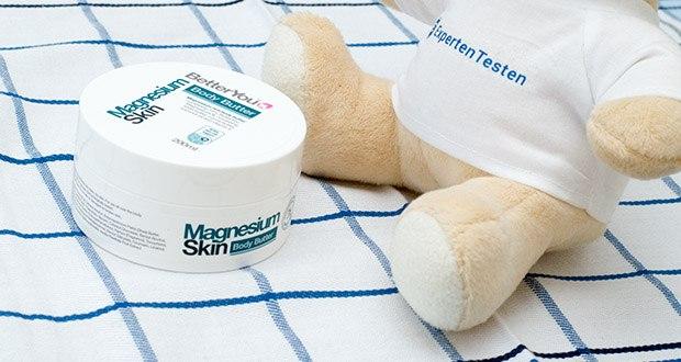 BetterYou Magnesium Body Butter im Test - BetterYou hat sich auf die Ergänzung von Nährstoffen spezialisiert