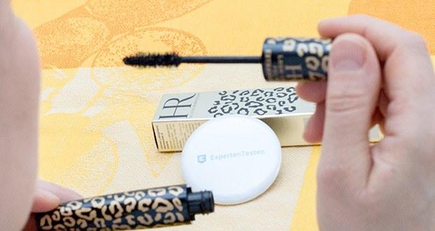 Helena Rubinstein Mascara Lash Queen 01-Black im Test - wenn mehr Volumen erzielen möchten, tragen Sie noch eine weitere Schicht Mascara auf
