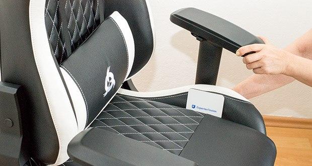 KLIM Esports Gaming Stuhl im Test - ist komplett verstellbar, damit er sich perfekt an dich anpasst