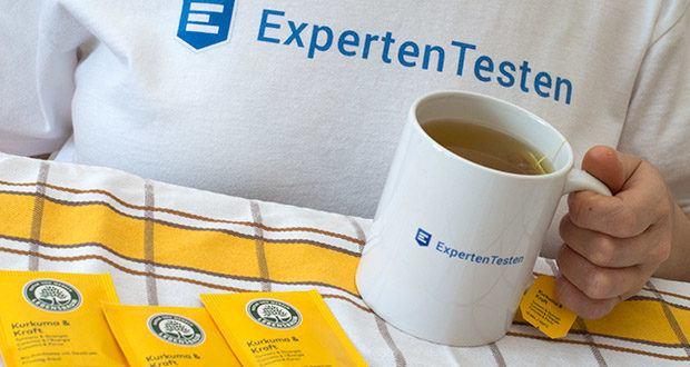 Lebensbaum Kurkuma & Kraft Teebeutel 40g im Test - für Veganer geeignet