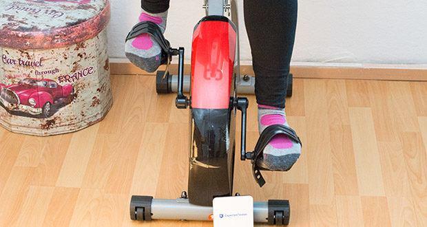 Wellactive Heimtrainer F-Bike Curved im Test - 8x Widerstandsstufen
