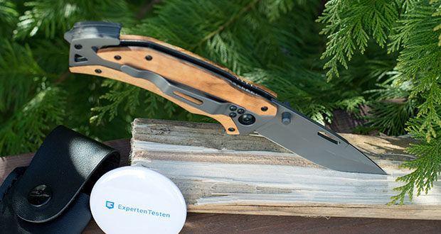 BERGKVIST Klappmesser K29 Titanium im Test - ist vielseitig einsetzbar und kommt mit Gurtschneider und Glasbrecher