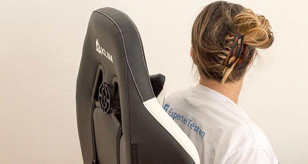KLIM Esports Gaming Stuhl im Test - ermöglicht es dir, viele seiner Bauteile individuell anzupassen, damit du deine perfekte Sitzposition findest