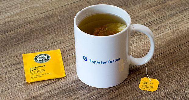Lebensbaum Kurkuma & Kraft Teebeutel 40g im Test - strengste Qualitätskontrollen