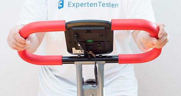 Wellactive Heimtrainer F-Bike Curved im Test - hält viele Funktionen für Sie bereit, mit denen Ihr Ausdauertraining zur täglichen Freude wird