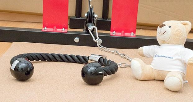 ellactive Power Rack Griffe-Set im Test - mit dem praktischen Zubehör-Set für Kraftstationen und Seilzüge wird Ihr Training noch vielfältiger