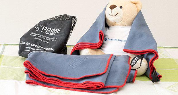 PRIME ART WOOD Microfaser Handtücher im Test - ein Must-Have für jeden Backpacker und Sportler