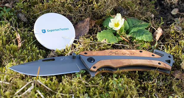 BERGKVIST Klappmesser K29 Titanium im Test - mit deinem neuen Taschenmesser kannst du nun wilde Outdoor Abenteuer erleben