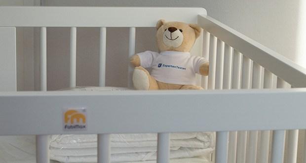 FabiMax Beistellbett im Test - optimale Anpassung für Elternbetten mit bis zu 5 cm breitem Rand