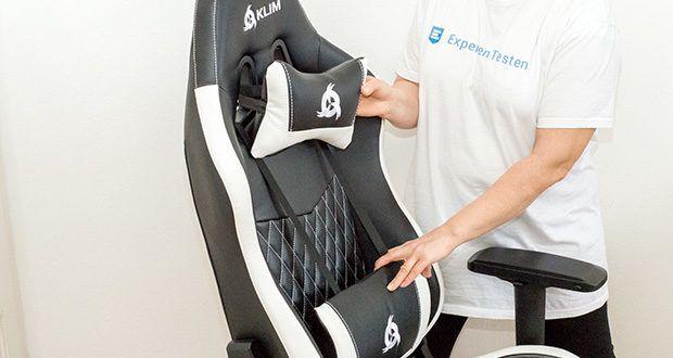KLIM Esports Gaming Stuhl im Test - sein ergonomisches und modernes Design macht ihn zum perfekten Gaming-Stuhl
