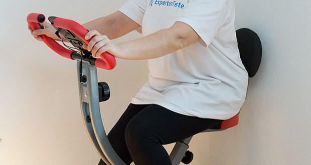 Wellactive Heimtrainer F-Bike Curved im Test - Fitnessgerät für leichtes Training zuhause