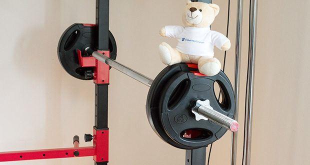 Wellactive Langhantelstange im Test - bietet durch die Vielzahl der individuellen Trainingsmöglichkeiten sowohl Einsteigern als auch Fortgeschrittenen und Profis die ideale Basis für ein effektives Ganzkörper-Muskeltraining