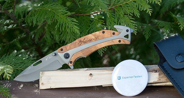 BERGKVIST Klappmesser K29 Titanium im Test - 3-in-1 Outdoor-Taschenmesser für Camping & Wandern