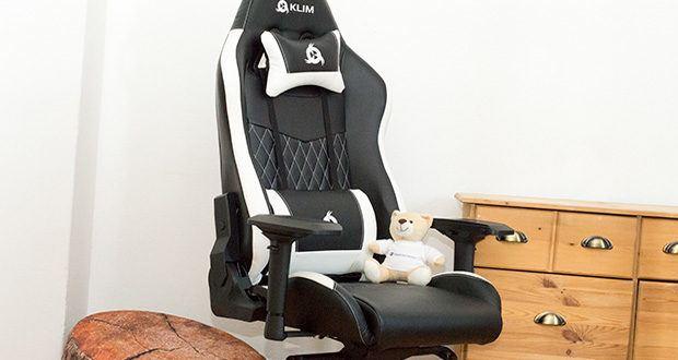 KLIM Esports Gaming Stuhl im Test - hat einen perfekten Sitz und Lehne, damit du den ganzen Tag aufrecht und bequem sitzt