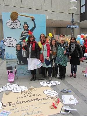 Das Interview über die Aktionen vom Verein Frauenakademie München e.V.