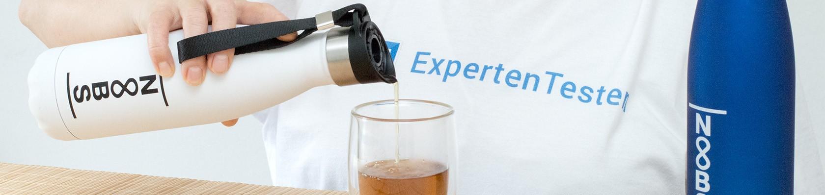 Thermosflaschen im Test auf ExpertenTesten.de
