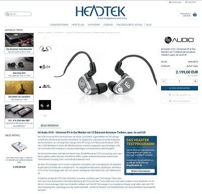 Das Interview über die Produkte von Headtek