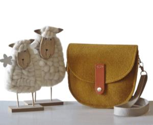 Die Schultertasche Filz, Mary von Margritli Country Style Shop
