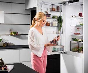 Zubehör für den Einbau Kühl Gefrierkombination aus dem Test