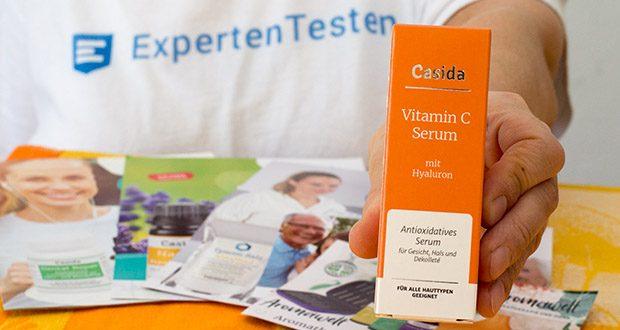 Casida Vitamin C Serum + Hyaluron im Test - in Deutschland in Apothekenqualität hergestellt