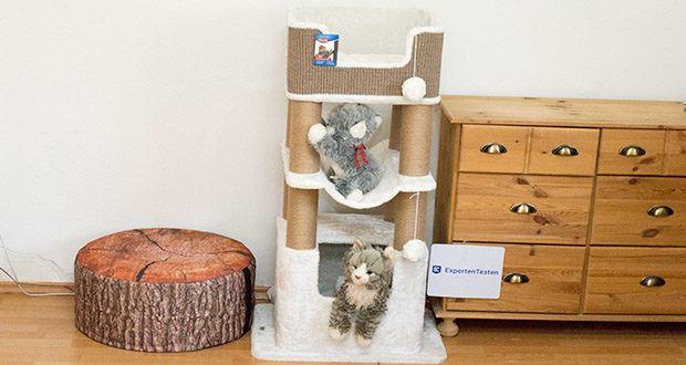 Trixie Kratzbaum XXL Lucano 44669 im Test - die ideale Ruhe- und Entspannungsoase für Ihre Katzen