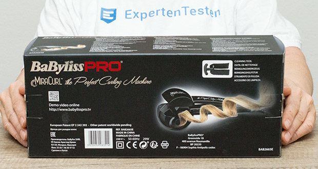 BaByliss Pro BAB2655E The Perfect Curling Machine MiraCurl im Test - hohe Lebensdauer von bis zu 10.000 Stunden