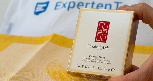 Elizabeth Arden Flawless Finish Sponge-On Cream Makeup im Test - die vielseitige feuchtigkeitsspendende Cream Foundation
