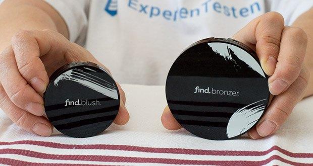 FIND Sunkissed radiance duo Bronzer & Blush im Test - in der Packung enthalten: 1 x Bronzer n.2 + 1 x Blush n.2