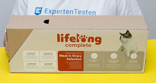 Lifelong Katzenfutter mit Fleischauswahl im Test - Nasskatzenfutter für ausgewachsene Katzen