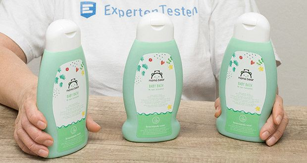 Mama Bear Baby-Bad im Test - mit Bioextrakten aus Steinklee, Hamamelis und Bioapfelwasser