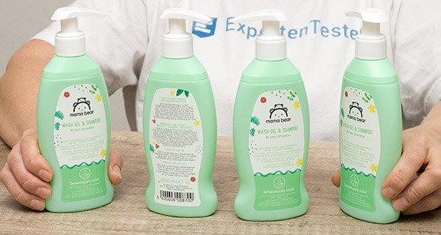Mama Bear Baby-Waschgel & Shampoo im Test - 4 Flaschen 4x200 ml
