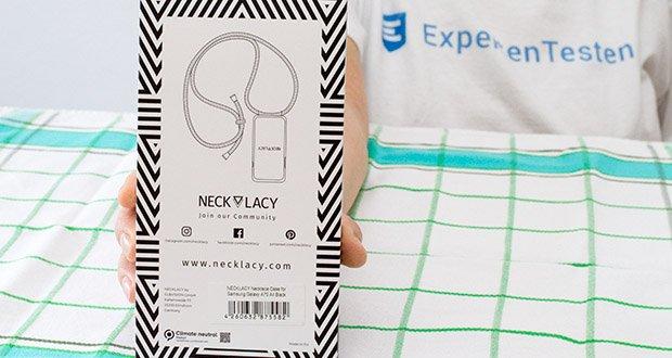 NECKLACY Hülle All Black für Samsung Galaxy A70 im Test - Hergestellt in der EU