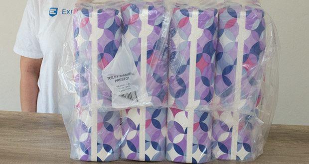 Presto! Toilettenpapier 4-lagige im Test - Lieferung: 4 Pack, 12 Rollen pro Pack