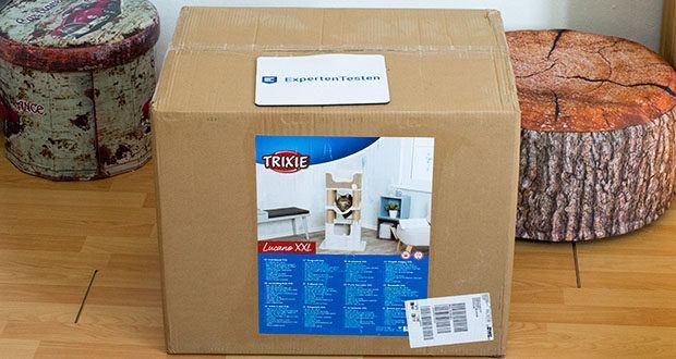 Trixie Kratzbaum XXL Lucano 44669 im Test - Grundfläche 42 x 57 cm / Höhhe 110 cm / Gewicht 11 kg