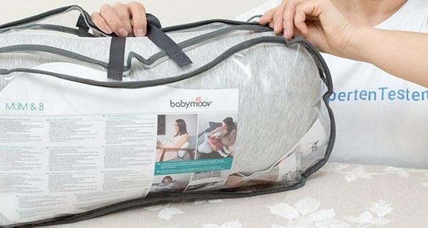 Babymoov Mum und B Fresh Still-/Schwangerschafts-/Lagerungskissen im Test