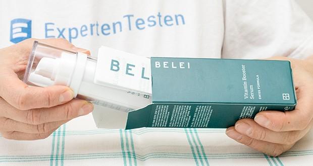 Belei – Vitamin-Booster-Serum 30 ml im Test - Seren sind leichter und dünner als Feuchtigkeitscremes und versorgen Ihre Haut mit speziellen Aktiv-Inhaltsstoffen
