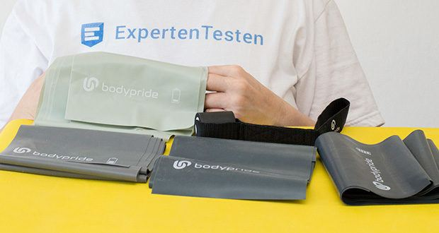 BODYPRIDE Premium Fitness Flat Bands im Test - 100% biologisch abbaubarer Naturkautschuk
