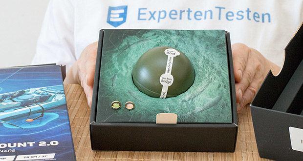 Deeper CHIRP+ Smart Sonar GPS-Fischfinder Set im Test - erzeugt sein eigenes Wi-Fi-Signal, um sich mit Ihrem Smartphone zu verbinden