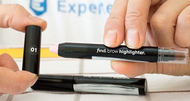 FIND Augenbrauen-Highlighting Kit im Test - die Wirksamkeit und Sicherheit von unabhängigen Laboren bestätigt