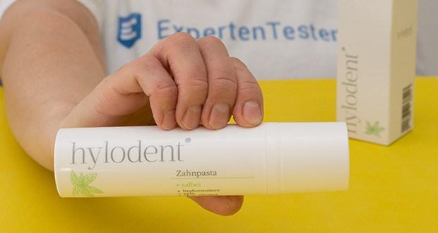 hylodent Bio Zahnpasta im Test - beschleunigt durch natürliche Hyaluronsäure die Heilung von Zahnfleischbluten & Zahnfleischentzündungen & wirkt Parodontose entgegen