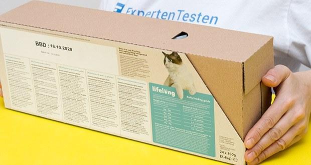 Lifelong Katzenfutter mit Fischauswahl im Test - zubereitet mit Fisch in Gelee
