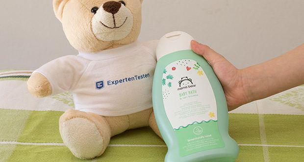 Mama Bear Baby-Bad im Test - dermatologisch getestet