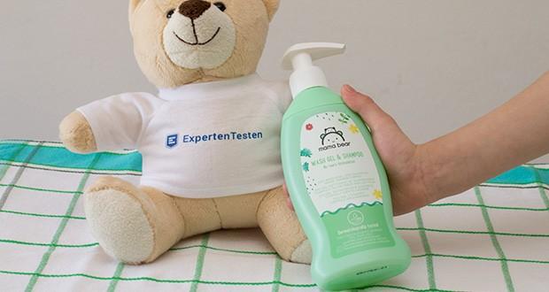 Mama Bear Baby-Waschgel & Shampoo im Test - dermatologisch getestet