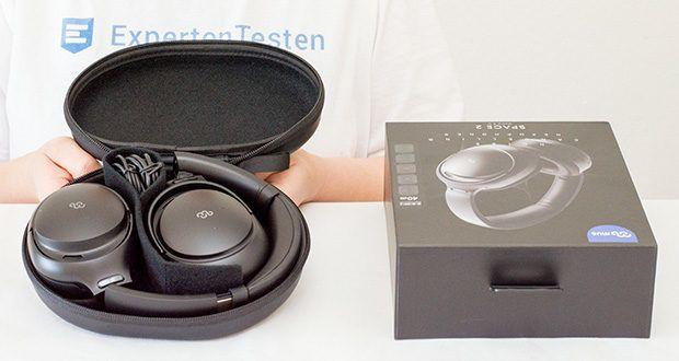 Mu6 Bluetooth Kopfhörer Space2 im Test - Treiber: Dynamisch 40mm; Impedanz: 32Ω